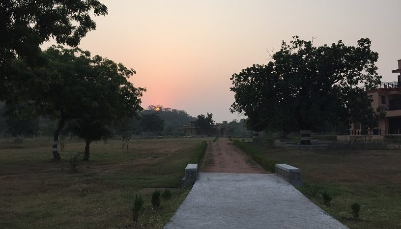 Pilgrimage 2015: The First Few Mornings at the Ashram