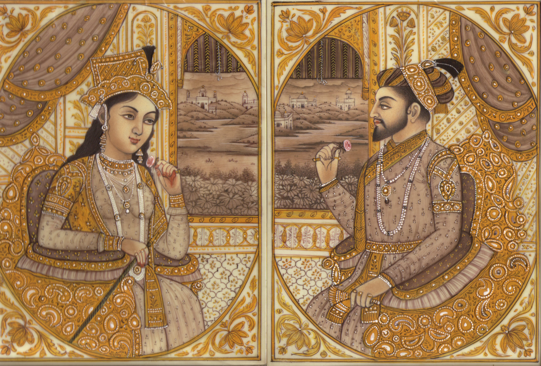 Mumtaz and Shah Jahan