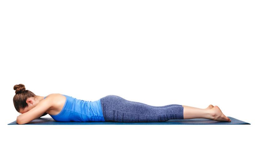 Yoga Asana-Makarasana