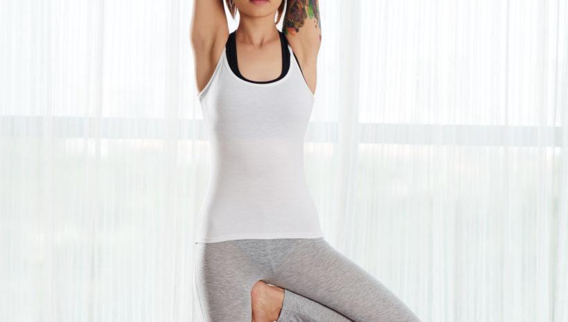Yoga Asana-Vrksasana