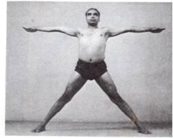 Yoga Asana-Utthita Hasta Padasana