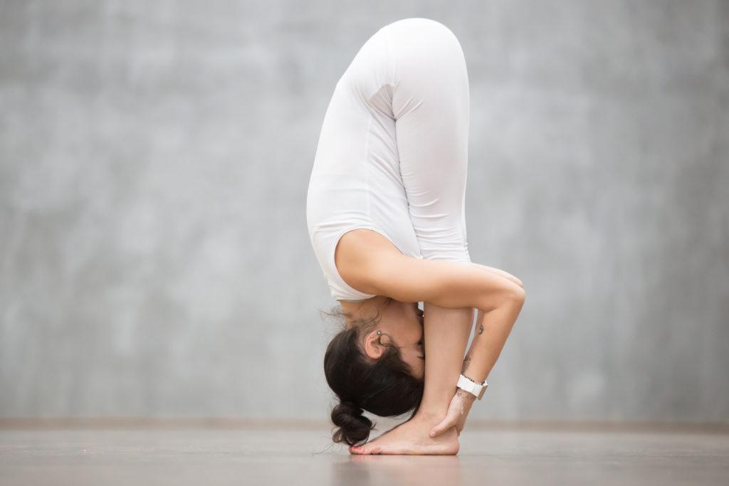 omgekeerde yoga oefening-Uttanasana- zensitivity